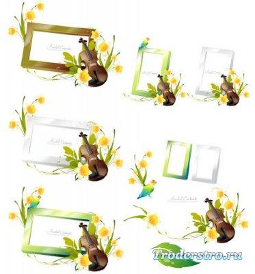 Asadal Romantic Flower - Векторный клипарт