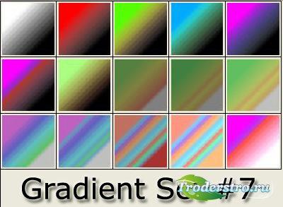 Градиенты для фотошопа - Set 7 - Стили