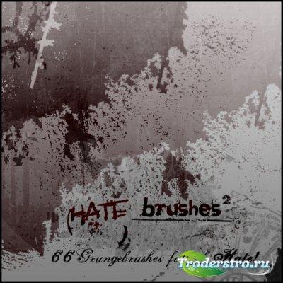 Hate Brushes 2 - Кисти для фотошопа