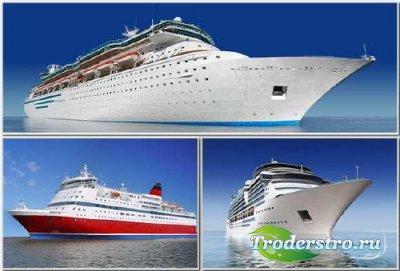 Корабли - Клипарт для фотошопа