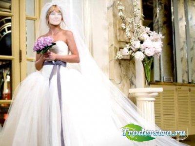 Шаблон для фотошопа – Невеста