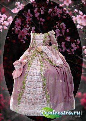 Виртуальный костюм для фотошопа - Платье