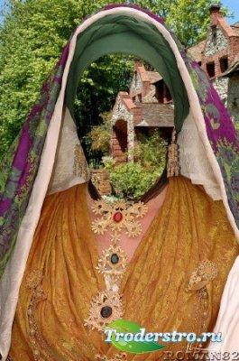Шаблон для фотошопа - Сардский костюм 4