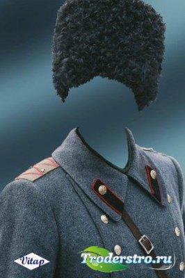 Шаблон для фотошопа – Боевой генерал
