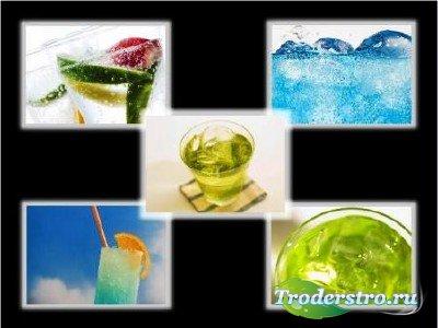 Растровый клипарт для фотошопа - Напитки