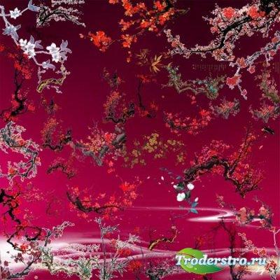 Клипарт для фотошопа - Ветки с деревьев