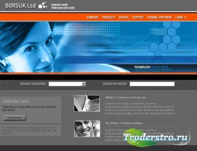 60 Professional Web Templates - шаблоны сайтов в формате PSD