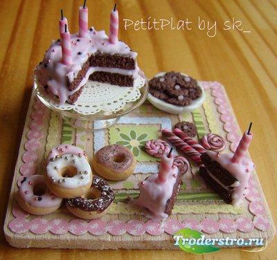 Кукольные сладости - Клипарт для фотошопа