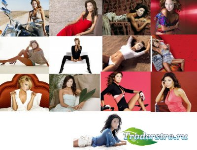 Шаблоны для фотошопа - Девушки