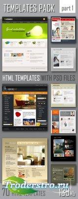 Шаблоны для сайтов | HTML шаблоны с PSD исходниками - Web Templates