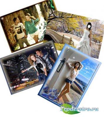 Шаблоны для фотошопа - Счастливые мгновенья
