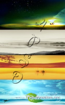 Nature - PSD исходники для фотошопа - Природа