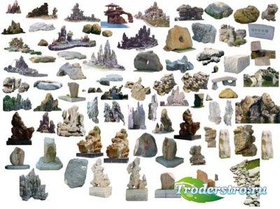 Stone - PSd клипарт для фотошопа
