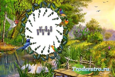 Рамочка для фотошопа - «Природа-2»