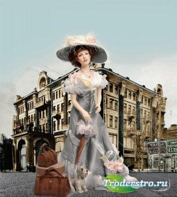 Шаблон для фотошопа - Ростов. Путешествие к морю