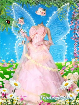 Шаблон для фотошопа – Волшебная весна