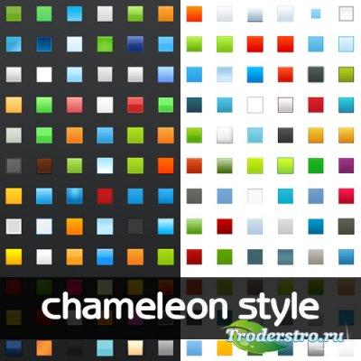 Chameleon Photoshop Style - Стили для Фотошопа