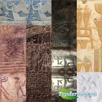 Роспись по камню, камни Египта - Текстуры для Фотошопа