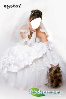 Шаблон для фотошопа - Невеста 1