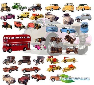 PNG клипарт для фотошопа – Автомобили игрушечные и модели
