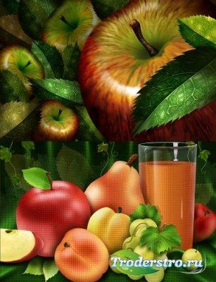 Fruit - PSD-исходник для фотошопа