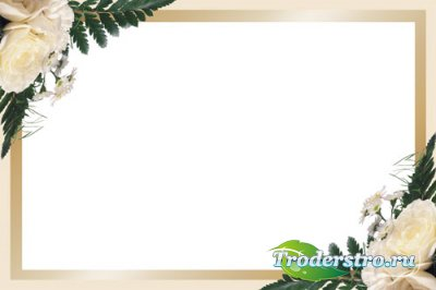 Рамка для фотошопа - Минута нежности