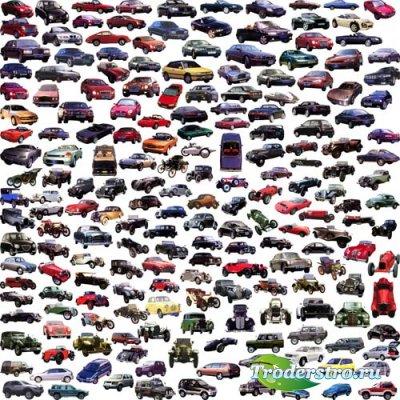 Автомобили - PSD клипарт