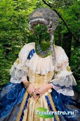 Шаблон для фотошопа - Королева 2