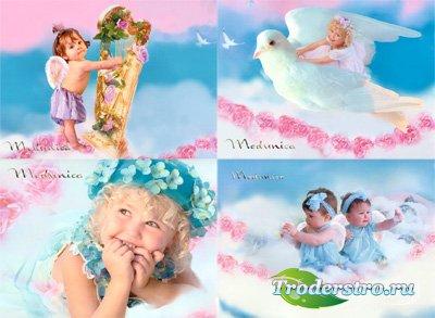 Шаблон для фотошопа - Детки