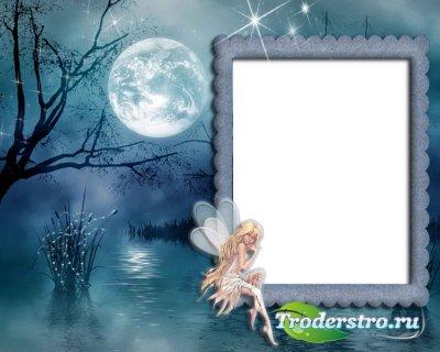 Рамка для фотошопа - При лунном свете