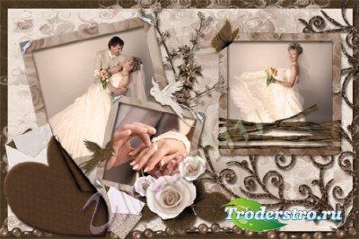 Рамка для Photoshop - Письма о любви
