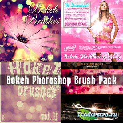 Bokeh Photoshop Brush Pack - Кисти для Фотошопа