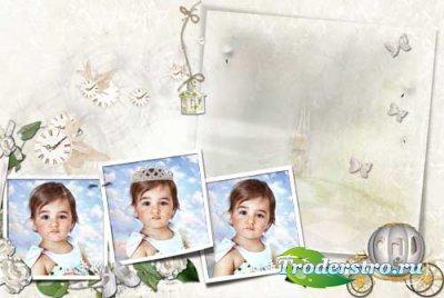 Рамка-Маленькая принцесса
