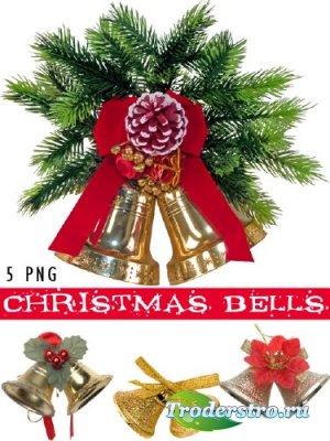 Christmas Bells - Рождественские колокольчики - PNG клипарт