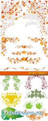 Клипарт - Осенние элементы (Autumn Elements)