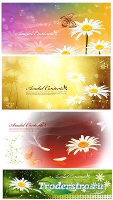 Клипарт - Баннеры - Asadal - Spring banner 18