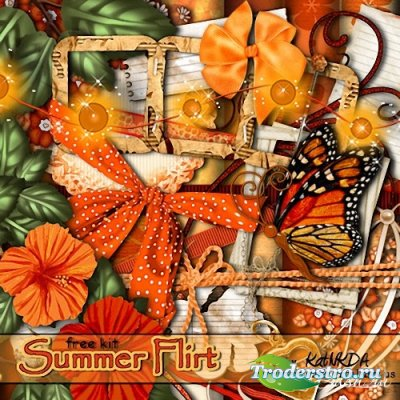 Скрап-набор -  Summer Flirt