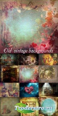 Старые винтажные текстуры