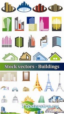 Векторный сток - Здания