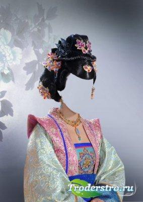Шаблон для фотошопа - Princess chinese