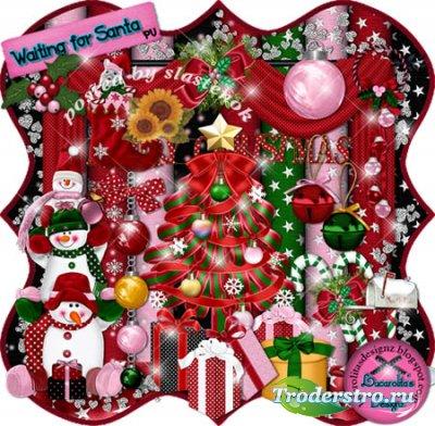 Скрап-набор - Waiting for Santa / Ожидание Санты
