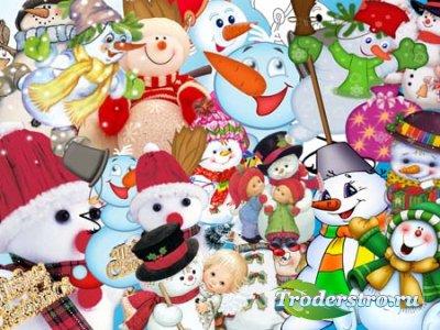 Клипарт - Снеговик 2