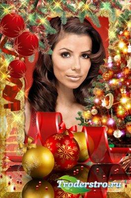 Рамочка для фото -Сказочный новогодний праздник