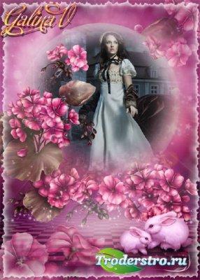 Сказочная фоторамка - Фантастические цветы