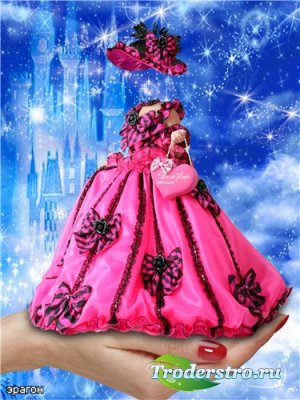 Детский шаблон для фотошопа – Моя принцесса