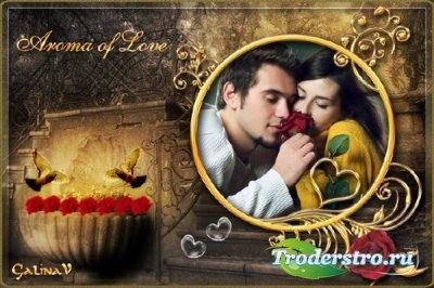 Романтическая фоторамка - Аромат любви