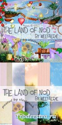Скрап-набор - Land of nod / Сонное царство