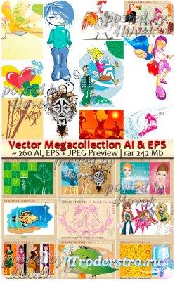 Коллекция векторного клипарта AI & EPS