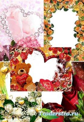 Романтические рамочки для фото