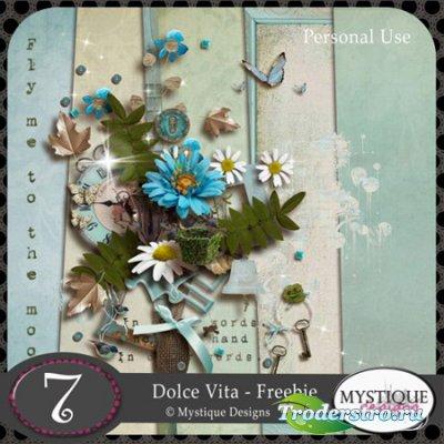 Скрап - набор - Сладкая жизнь / Dolce vita